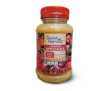 Sweet Harvest Applesauce - Cinnamon