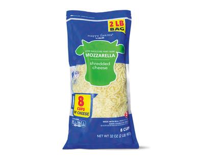 Happy Farms Mozzarella Shredded Cheese
