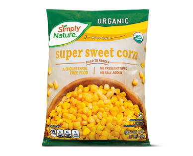 Simply Nature Organic Sweet Corn