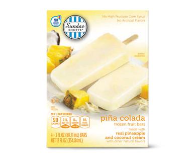 Sundae Shoppe Piña Colada Fruit Bars