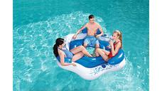 Crane Inflatable Floating Island Lounge Raft