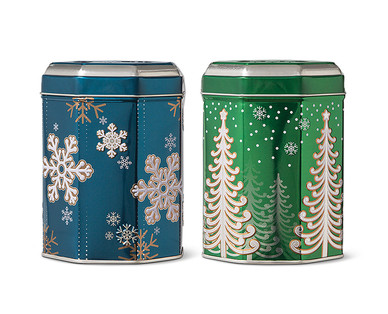 Holiday Music Tins with Cookies View 1