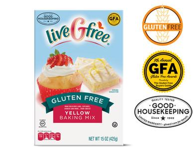 liveGfree Gluten Free Yellow Baking Mix