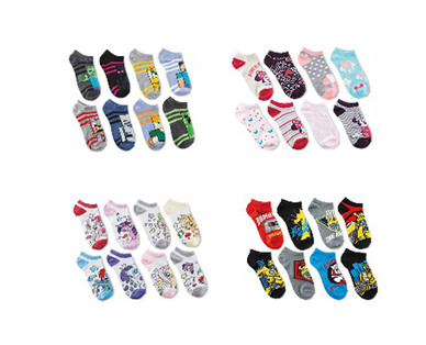 Children's Licensed 8 Pack Socks View 2