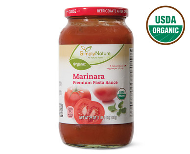 Simply Nature Organic Marinara Sauce