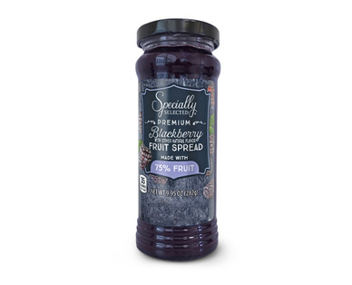 Specially Selected Blackberry Fruit Spread Made With 75% Fruit