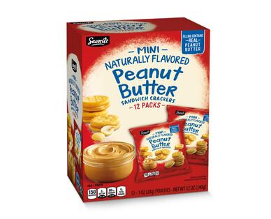Savoritz Mini Peanut Butter Sandwich Crackers