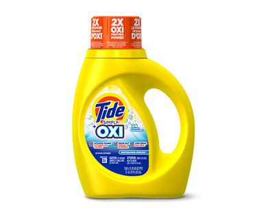 Tide Simply Plus Oxi Laundry Detergent