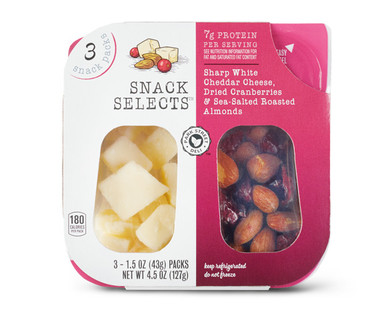Park Street Deli Sharp White Cheddar, Cranberries & Almonds Snack Selects