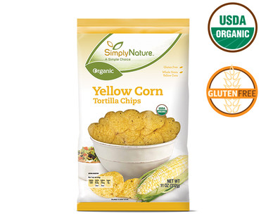 SimplyNature Organic Yellow Corn Tortilla Chips