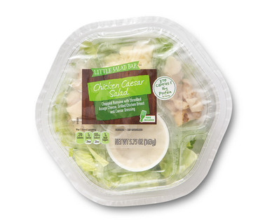 Little Salad Bar Chicken Caesar Salad Bowl