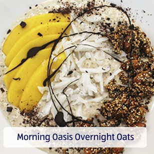 Morning Oasis Overnight Oats. View recipe.
