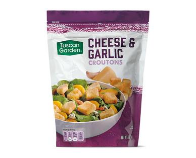 Tuscan Garden Cheese & Garlic Croutons