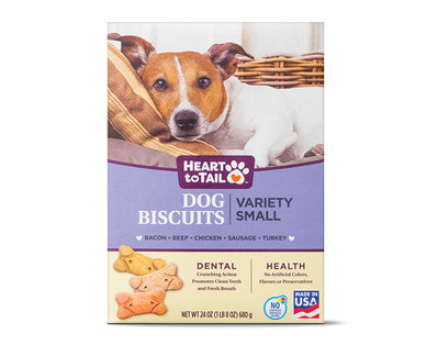 Heart to Tail Variety Dog Biscuits