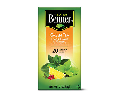 Benner Lemon Ginseng Tea Bags