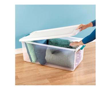 Easy Home 106-Quart Latching Box View 1