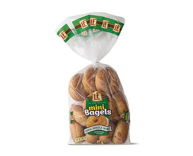 L'oven Fresh Whole Wheat Mini Bagels