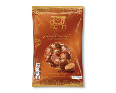 Moser Roth Crispy Hazelnut Truffle Grand Chocolades