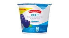 Friendly Farms Light Nonfat Blueberry Yogurt