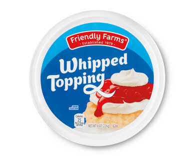 Friendly Farms Whipped Topping