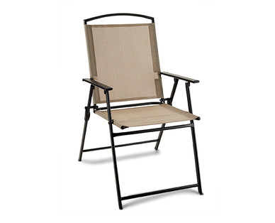 Gardenline Sling Folding Chair Aldi Us