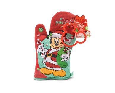 Disney Oven Mitt with Cookie Mix & Cutter View 2