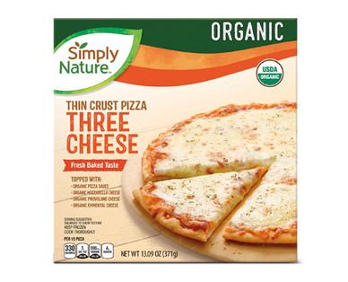 Simply Nature Organic Three Cheese Pizza