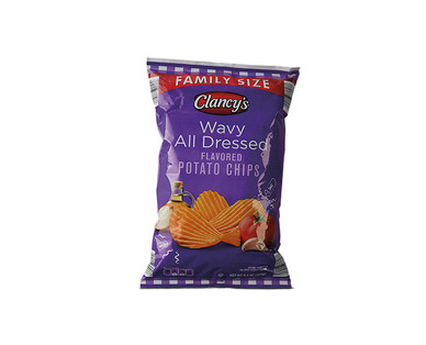 Clancy's Wavy Potato Chips All Dressed