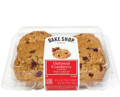 Bake Shop Oatmeal Cranberry Cookies