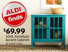 ALDI Find: SOHL Furniture Accent Cabinet: $69.99. View Details.
