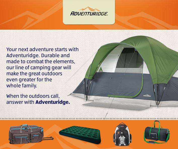 Adventuridge Camping Gear