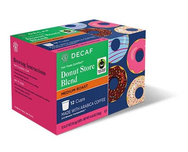 Barissimo Decaf Donut Store Blend Coffee Cups