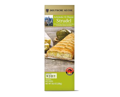 Deutsche Küche Spinach & Ricotta or Artichoke & Cheese Savory Strudels View 2