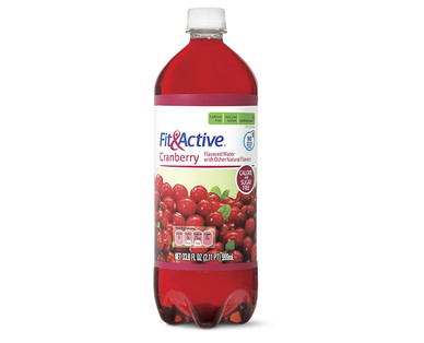 Fit and Active Cranberry Flavored Water