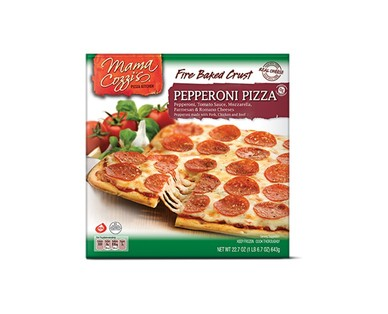 Mama Cozzi's Fire Baked Pepperoni or Five Cheese Pizza View 1