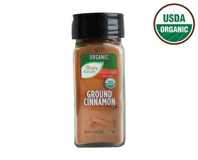 Simply Nature Organic Ground Cinnamon