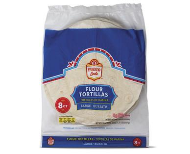 Pueblo Lindo Burrito Flour Tortillas