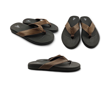 Crane Men's or Ladies Leather Comfort Sandals View 1