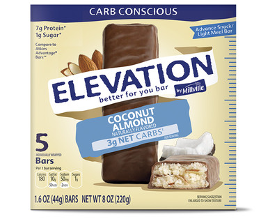 Elevation by Millville Coconut Almond Advance Bars