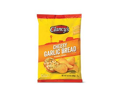 Clancy's Cheesy Garlic Bread Potato Chips View 1