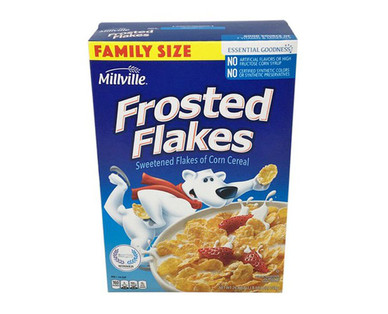 Millville Family Size Frosted Flakes