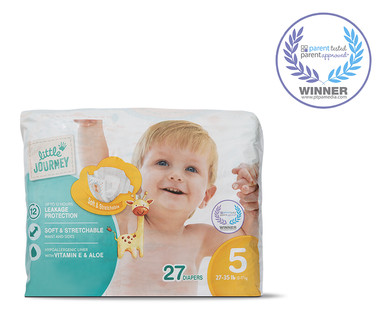 Little Journey Size 5 Diapers