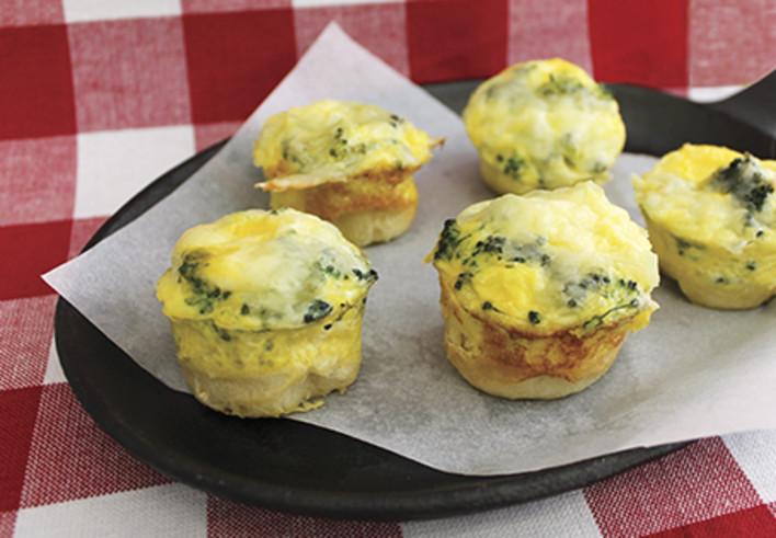 Mini Broccoli Breakfast Bites