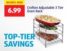 Buyer's Pick: Crofton Adjustable 3 Tier Oven Rack. $6.99. View Details.
