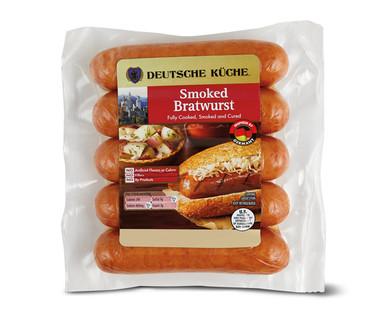 Deutsche Kuche Smoked Bratwurst