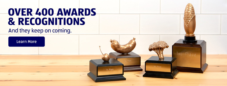ALDI has Over 400 Awards and Recognitions. Click to Learn More.