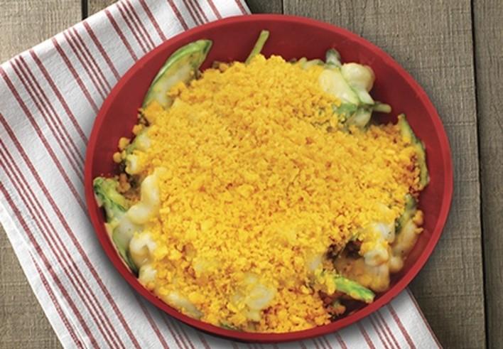 Cauliflower Spinach Mac & Cheese