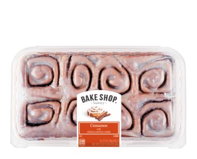 Bake Shop Cinnamon Sweet Rolls
