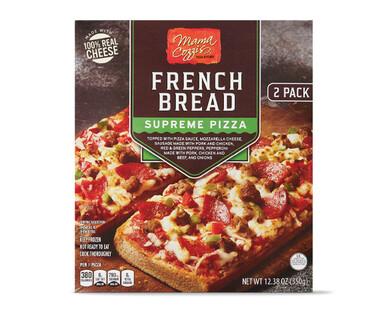 Mama Cozzi's Pizza Kitchen French Bread Supreme Pizza