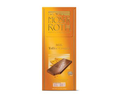 Moser Roth Milk Toffee Crunch Bar